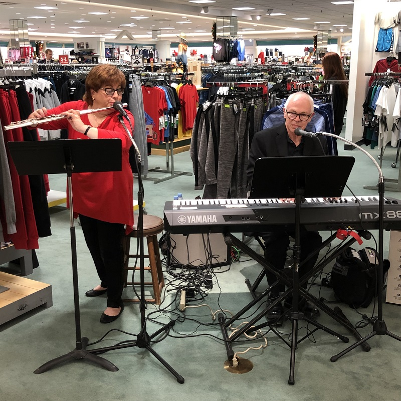 Vera & Joel Performing At The 2018 Dillard's Annual VIP Event
