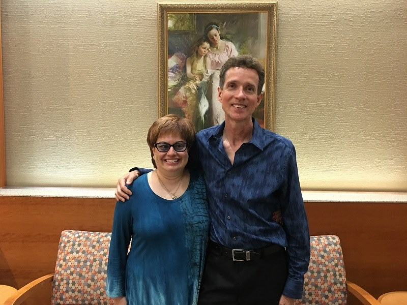 Vera & Tim Burnaman had a lovely time performing for the Largo Library Foundation Art Hop