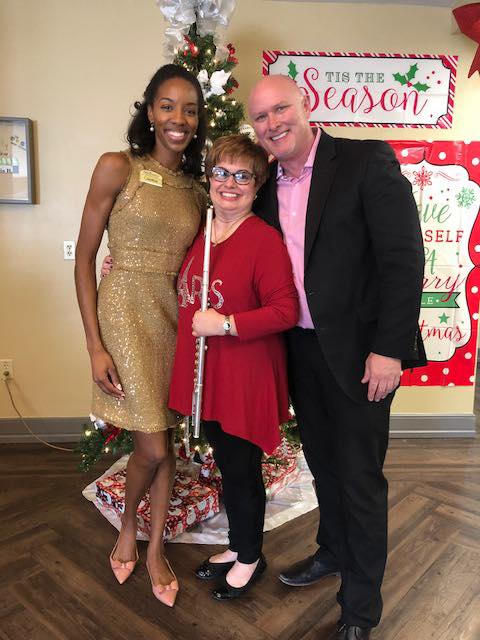 Vera and Stan Collins had an amazing time performing a beautiful holiday concert at the Renaissance Senior Living community hosted by Candace Pelham.